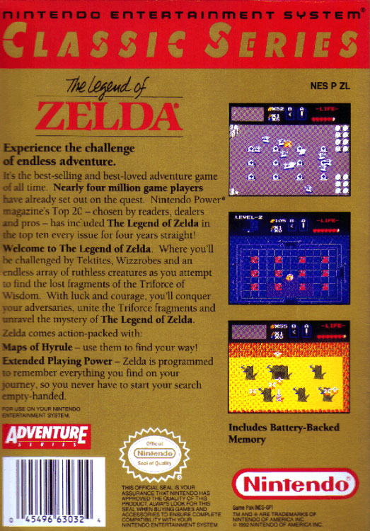The Legend Of Zelda Box Art Zelda Xtreme