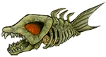Flying Skull-Fish