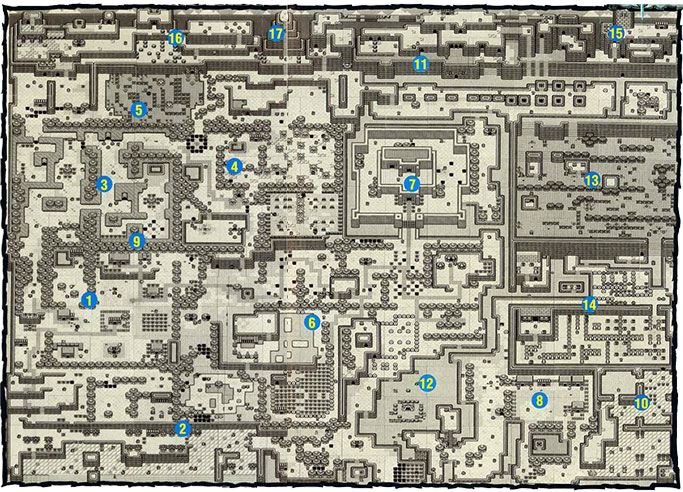 Link S Awakening Maps Zelda Xtreme