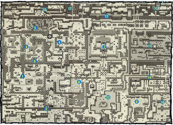 Link\\\'s Awakening Map Link's Awakening Maps   Zelda Xtreme